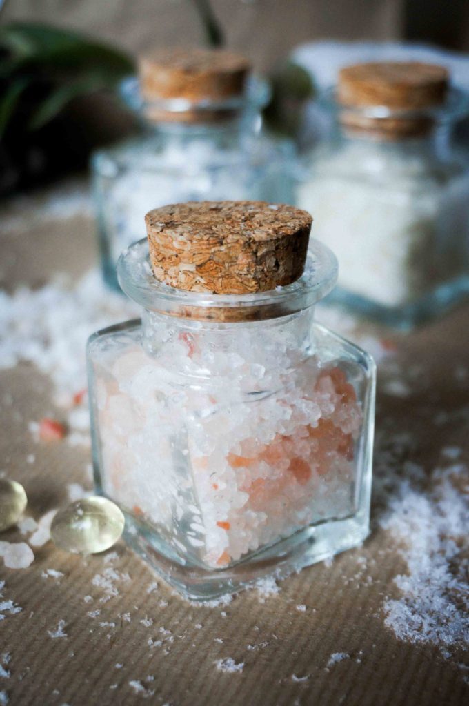 Ванна-детокс для кожи рук с гималайской солью. Хэндмейд подарок для подруги.