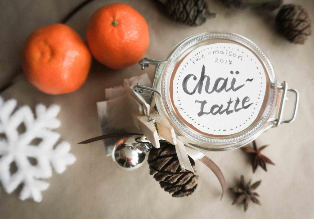 Вкусные подарки в банках: смесь для чая-латте