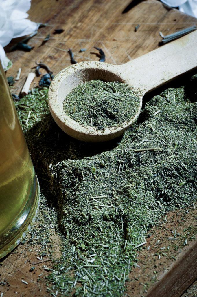 Домашняя косметика с зеленым чаем