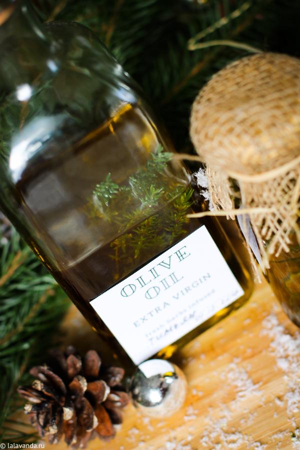 Новогодние подарки своими руками - масла, настоянные на травах