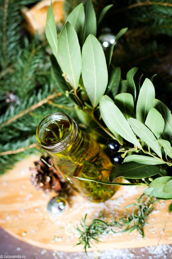 Новогодние подарки своим и руками - розмариновое масло для запекания овощей