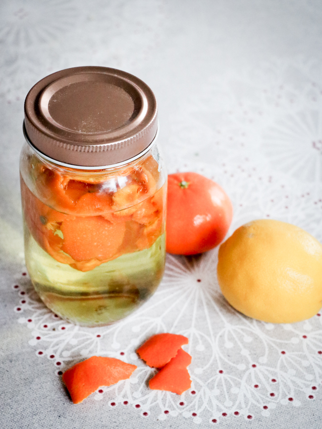 Как сделать апельсиновый уксус - идеальное и безопасное домашнее средство для уборки.