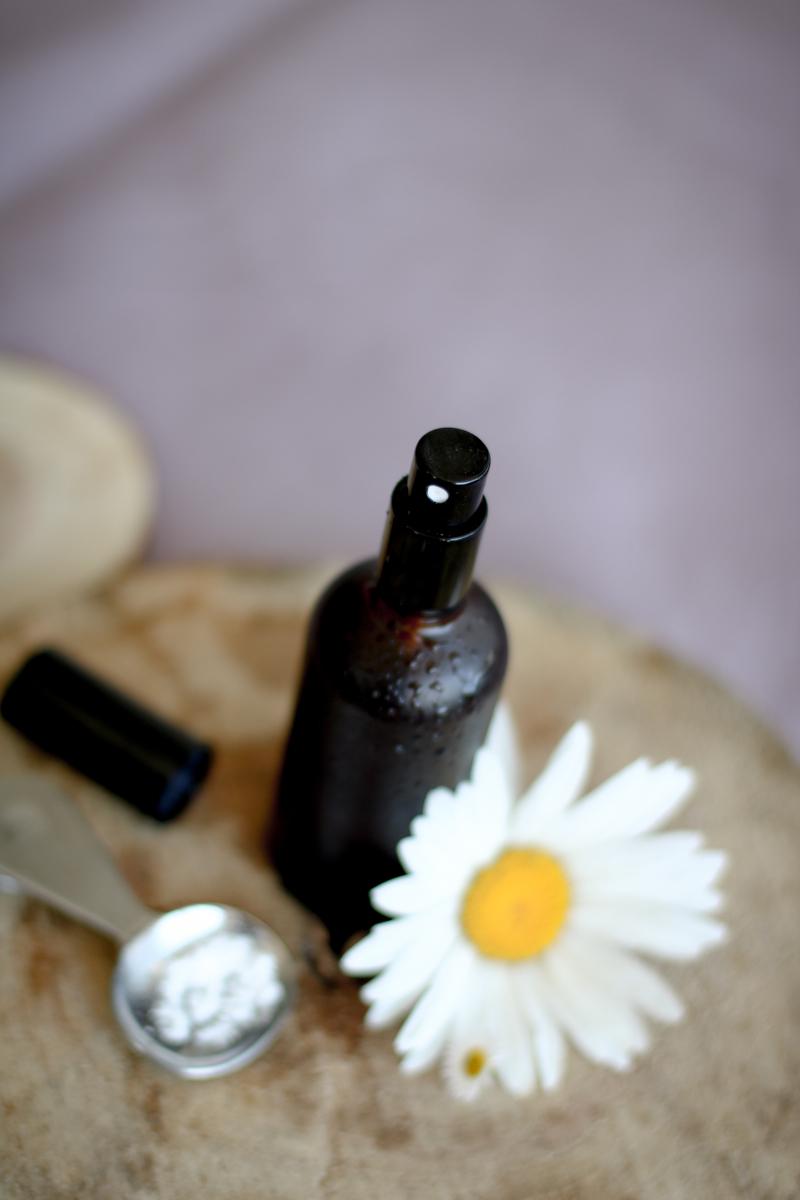 домашний увлажняющий спрей для зрелой кожи, простой рецепт