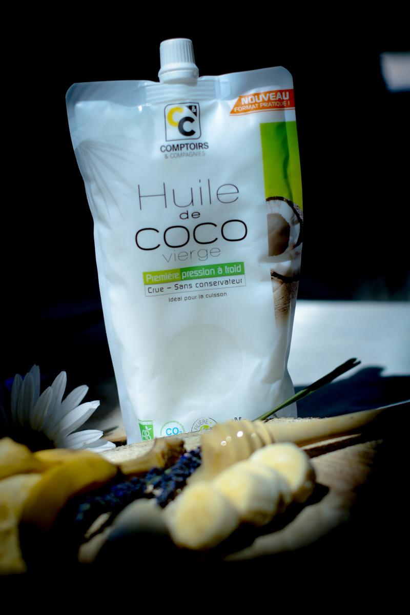 Домашняя маска для волос с кокосовым маслом, медом и бананом